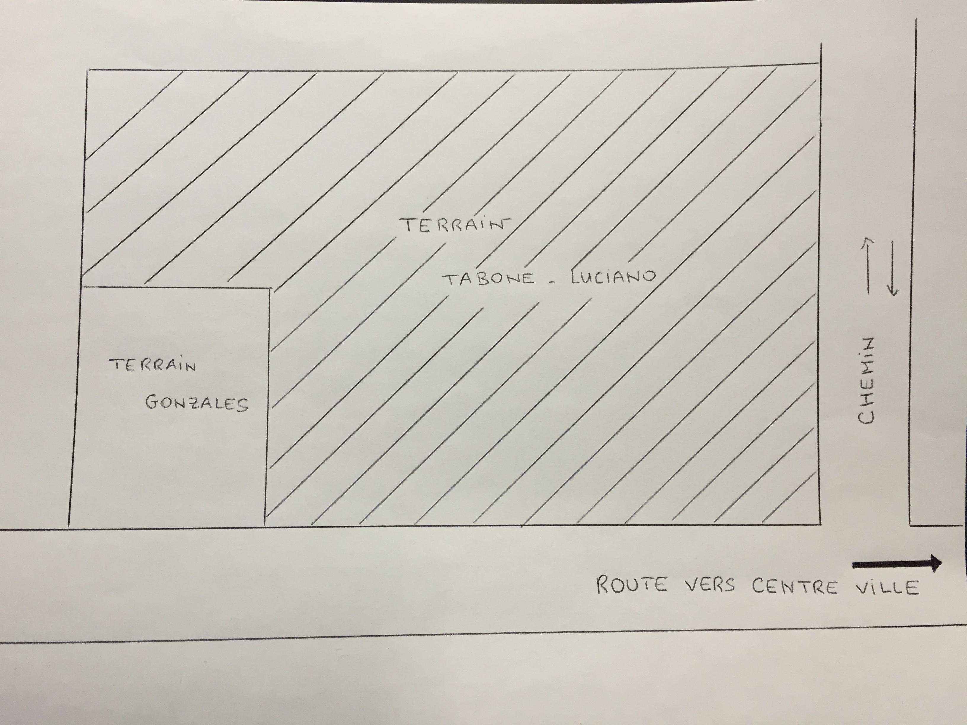 Configuration du terrain TABONE_LUCIANO