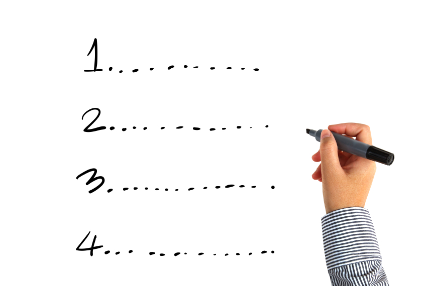 Ecrivez vos objectifs pour mieux les visualiser!