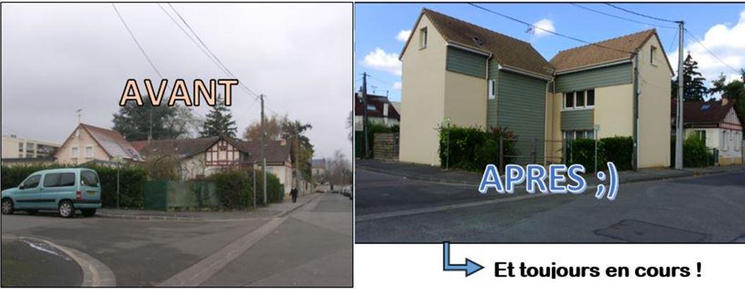 Auto-construction: Avant / Après