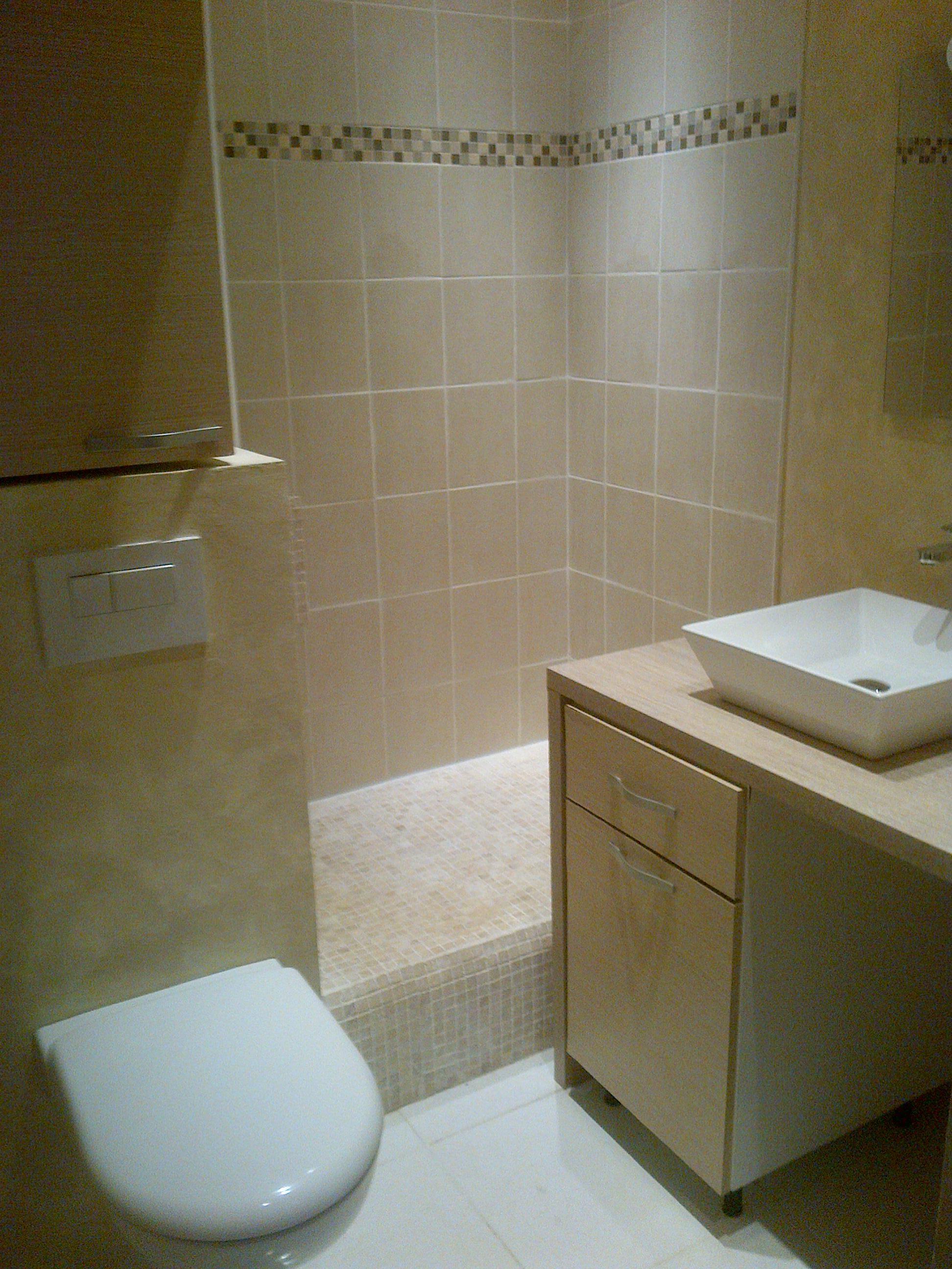 Salle de bain moderne de mon studio