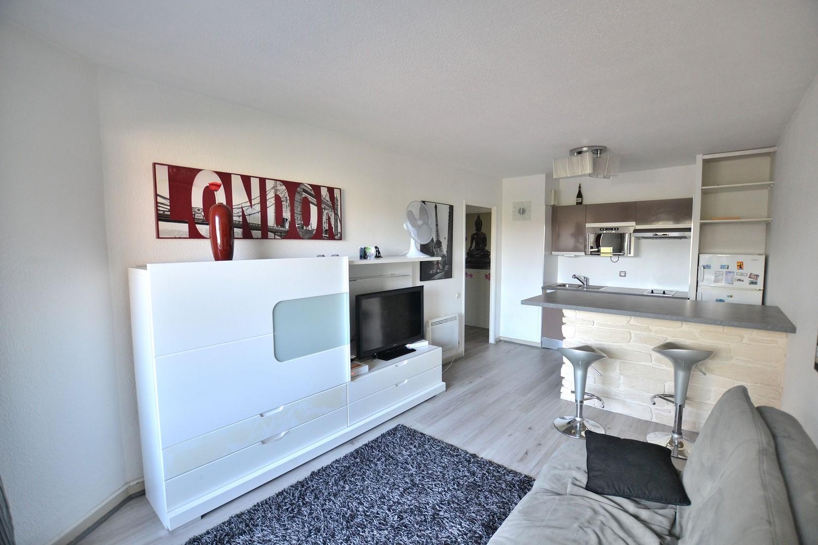 Premier appartement Juan Les Pins